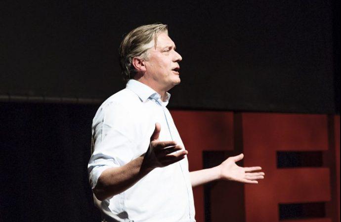 Rupert Gather speaking at TEDx