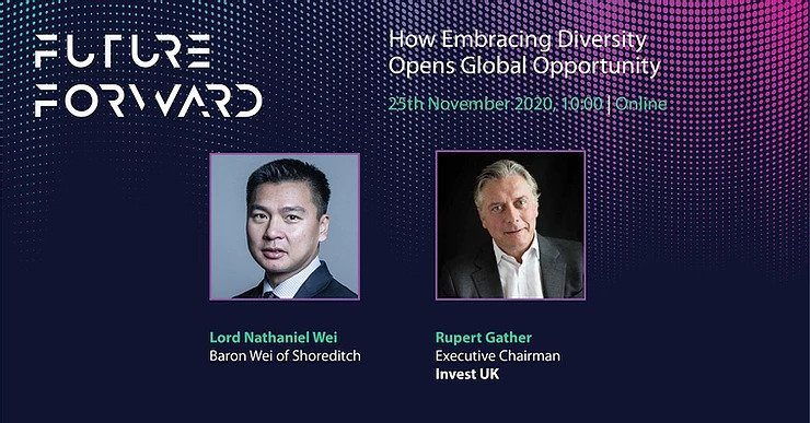 Rupert Gather and Nat Wei at Future Forward 2020