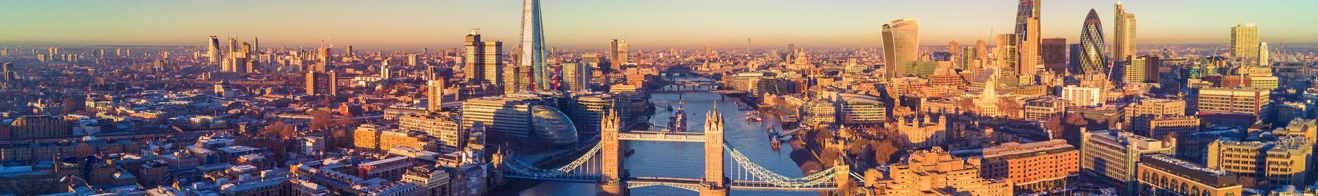 London City Skyline Banner
