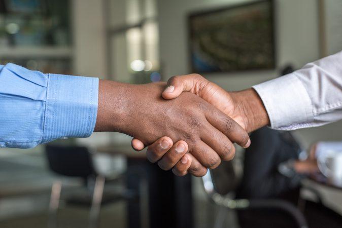 BNO Premier Handshake