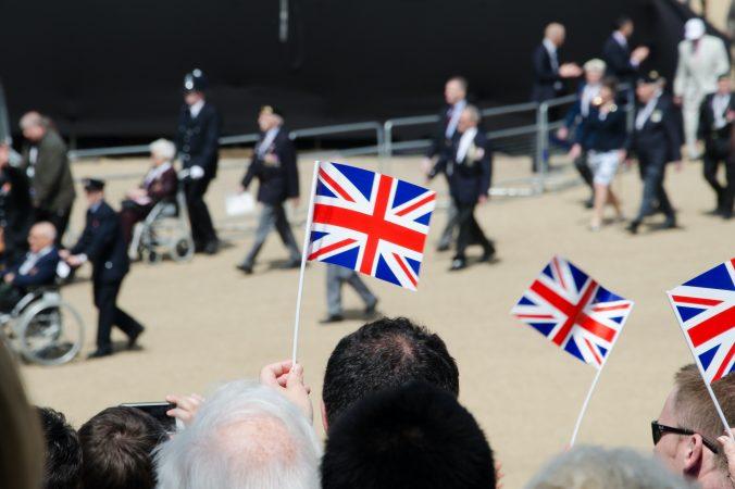 UK Flag during Brexit